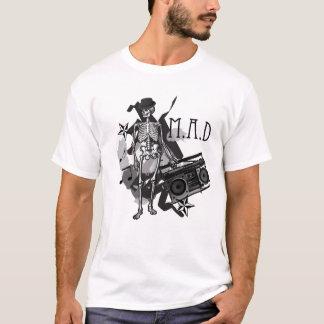 M.A.D- Skeleton Rocker T-Shirt