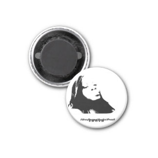 M.A.W.M.S. MOTHERS AND WOMEN MASTERING SURVIVAL 1 INCH ROUND MAGNET