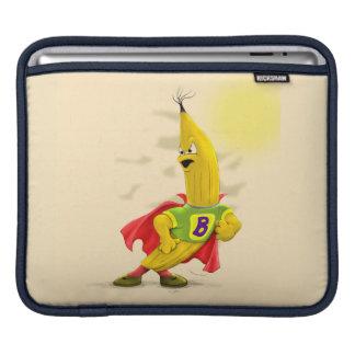 M.BANANA ALIEN CARTOON IPAD Horizontal iPad Sleeve