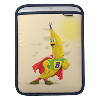 M.BANANA ALIEN CARTOON IPAD VERTICAL iPad SLEEVE