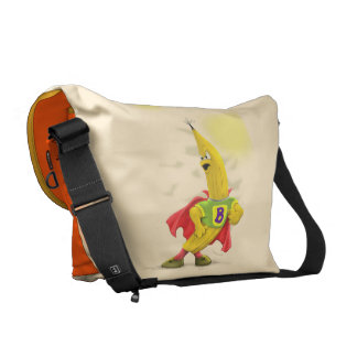 M.BANANA Rickshaw LARGE Messenger Bag