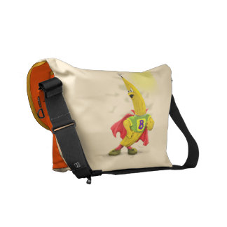 M.BANANA Rickshaw MEDIUM Messenger Bag