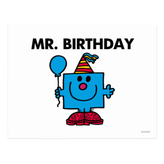 M Birthday Classic Cartes Postales