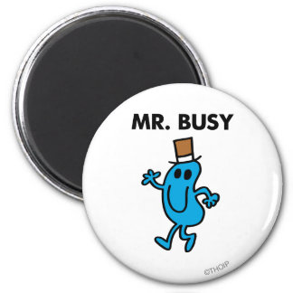 M. Busy Waving Hello Magnet Rond 8 Cm