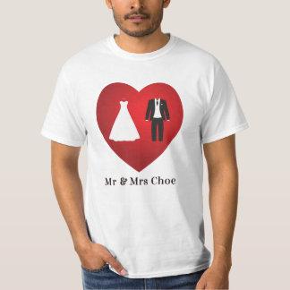 M. et Mme Choe Wedding Marriage T-Shirt