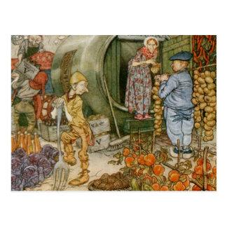M. et Mme Vinegar et histoire anglaise Cartes Postales