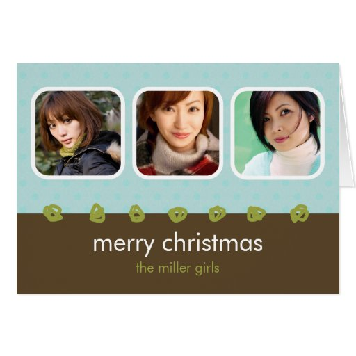M Holiday Collection - Miller Card