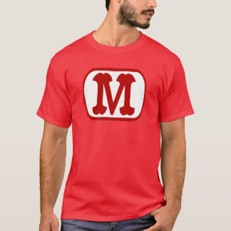 M In Oval Icon (Mario) T-Shirt