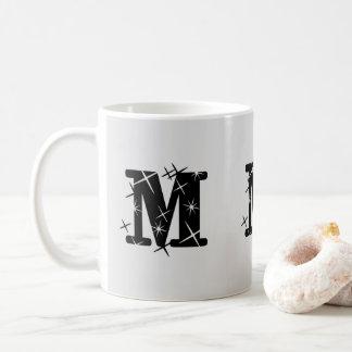 """""""M"""" Initial Mug"""
