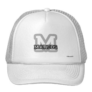 M is for Marcos Trucker Hat