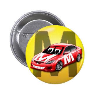 """""""M"""" logo car button"""