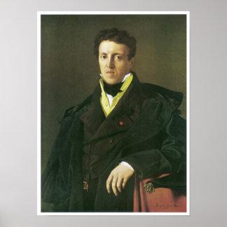 M. Marcotte, 1810, Jean Ingres Poster