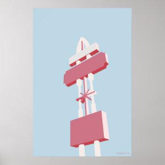 """M O T E L - 36"""" x 24"""", Poster Paper Semi Gloss"""
