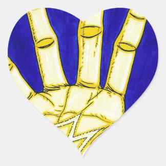 M People Heart Sticker