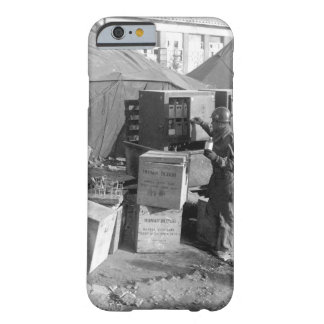 M/Sgt. George Miller selects human blood_War Image Barely There iPhone 6 Case