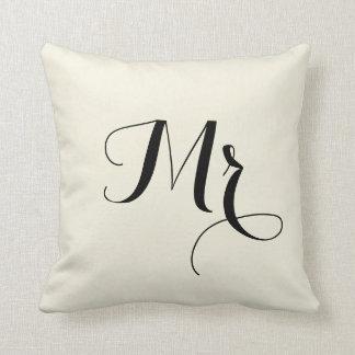M. Striped Back Pillow - de M. et de Mme paire Coussin