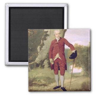 M Thrale c 1770-80 huile sur la toile Aimant Pour Réfrigérateur