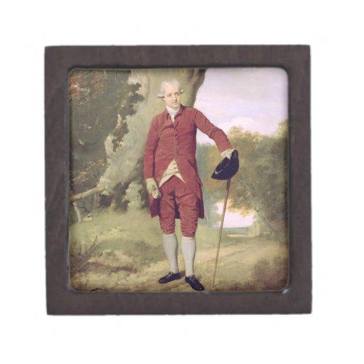 M. Thrale, c.1770-80 (huile sur la toile) Boîte À Souvenirs De Première Qualité