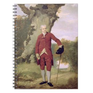 M. Thrale, c.1770-80 (huile sur la toile) Carnet À Spirale