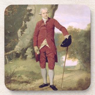 M. Thrale, c.1770-80 (huile sur la toile) Dessous-de-verre