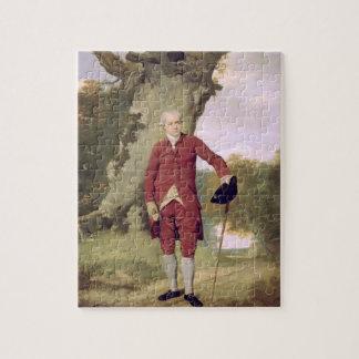 M. Thrale, c.1770-80 (huile sur la toile) Puzzle