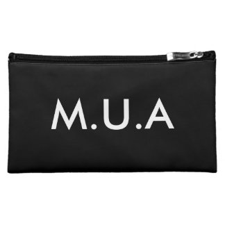 M.U.A (Make-up Artist) COSMETICS BAG Cosmetic Bag