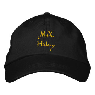 M.X. History Embroidered Hat
