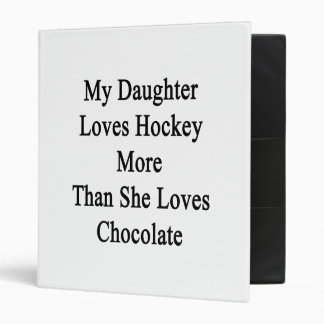 Ma fille aime l'hockey davantage qu'elle aime