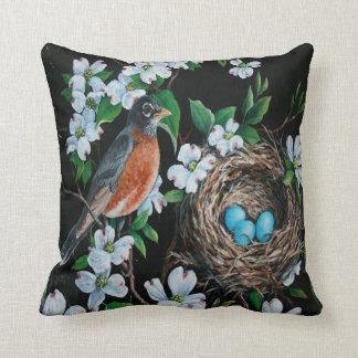 Ma' Ma' Bird Peom By Ericka Marino Pillow
