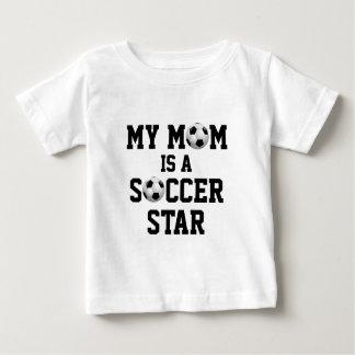 Ma maman est un ballon de football d'étoile du tee shirts