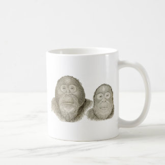 Ma & Pa - THE BABOON COUPLE Coffee Mug