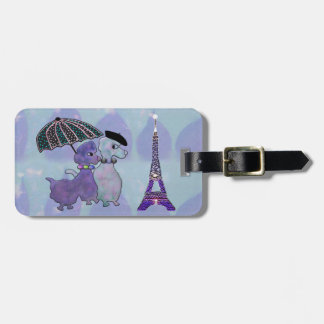 Ma Petite Belle Amour Luggage Tag