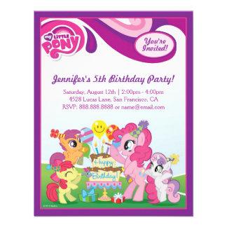 Ma petite fête d'anniversaire de poney bristols personnalisés