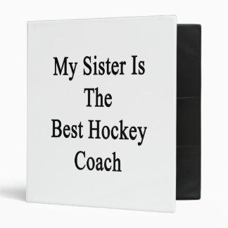 Ma soeur est le meilleur car d'hockey