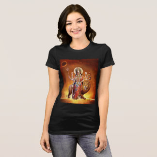 Maa Durga Yoga Shirt