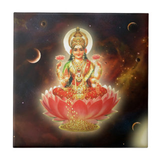 MAA MAHALAXMI DEVI INDIAN GODDESS OF WEALTH/ FORTU TILE