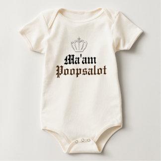Ma'am Poopsalot - Baby Bodysuit