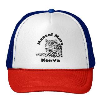 Maasai Mara Kenya Leopard Safari Cap Trucker Hat