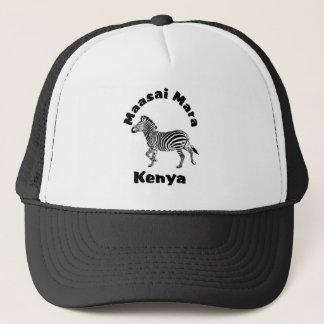 Maasai Mara Kenya running Zebra  Safari Cap