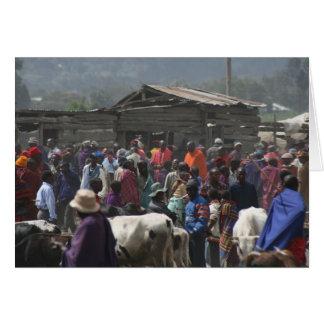 Maasai Market Card