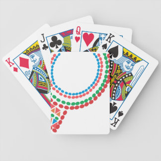 Maasai Necklace Bicycle Playing Cards