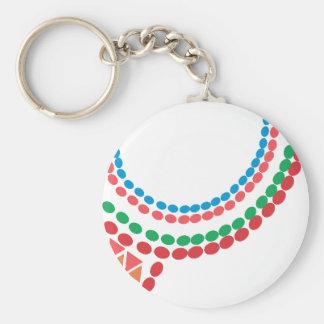 Maasai Necklace Keychain