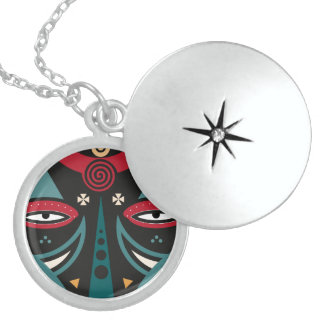 maasai warrior locket necklace