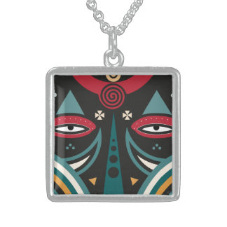 maasai warrior sterling silver necklace