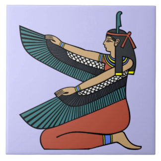 Ma'at Egyptian Goddess Decorative Tile (M)