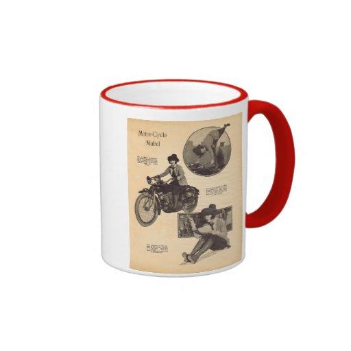 Mabel Normand 1920 vintage portrait mug