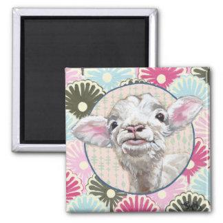 Mabel the Lamb Magnet