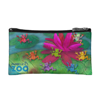 Mabell's Zoo Animals, The Frogs Makeup Bag