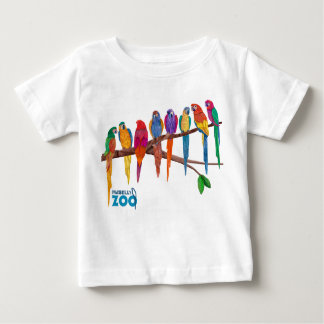 Mabell's Zoo Animals, The Parrots Baby T-Shirt