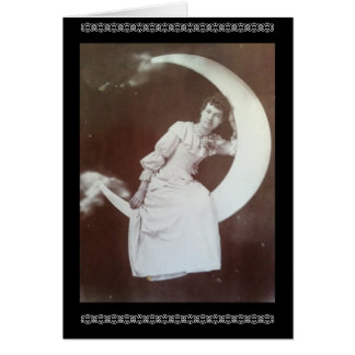 Mabel's Moon - Vintage Card